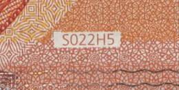 """50 EURO ITALIA  SA  S022 H5 LAST POSITION  Ch. """"45""""  -  UNC - 50 Euro"""