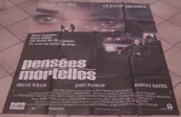 AFFICHE CINEMA ORIGINALE FILM PENSEES MORTELLES WILLIS Demi MOORE KEITEL RUDOLPH TBE 1991 - Affiches & Posters