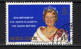BELIZE - 1980 - Queen Mother Elizabeth, 80th Birthday - USATO - Belize (1973-...)