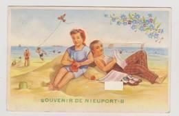40493  -   Souvenir De Nieuport Bains - Carte  à  Système - Nieuwpoort