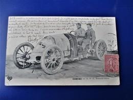 Circuit D'Auvergne - Coupe GORDON-BENNETT- Edmond Sur Sa 90 Ch. Renault Frères - Voyagée En 1905 - France