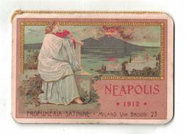 CALENDARIETTO  SATININE 1912 NEAPOLIS - Calendari