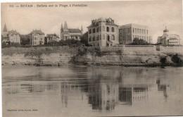 Pontaillac Reflets Sur La Plage Royan 1908 - Collect Victor Billaud - Royan