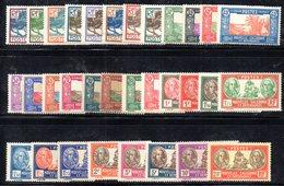 BIG/F - NUOVA CALEDONIA 1928 , Yvert Serie N. 139/161  *  Linguellata  (2380A) - Nuova Caledonia
