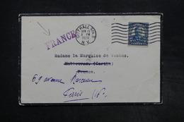 ETATS UNIS - Enveloppe De New York Pour La France En 1928 - L 27318 - Postal History