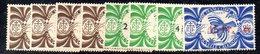 BIG/F - NUOVA CALEDONIA 1945 , Yvert Serie N. 249/256  *  Linguellata  (2380A) - Nuova Caledonia