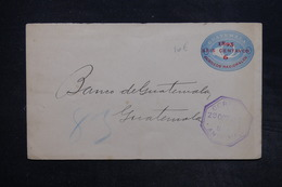 GUATEMALA  - Entier Postal Surchargé , Voyagé En 1895 - L 27322 - Guatemala
