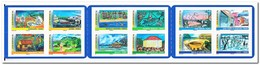Frans Polynesië 2011, Postfris MNH, Nature, Buildings, Birds ( Booklet ) - Boekjes