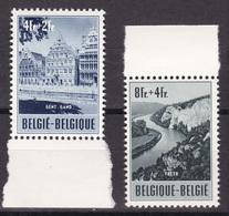 Belgique - COB 922 Et 923 - Sans Trace De Charnière - Cote ~60€ - Belgique