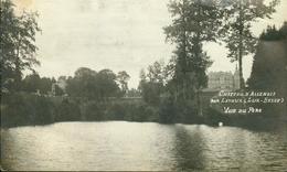 Château D'Assenois Par Lavaux(Lux-Belge)  Vue Du Parc  -- Scan-- - Autres