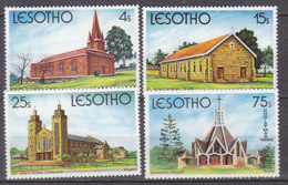 PGL AD283 - LESOTHO Yv N°405/08 ** ARCHITECTURE - Lesotho (1966-...)