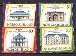 PGL AD285 - NORFOLK Yv N°135/38 ** ARCHITECTURE - Ile Norfolk