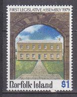 PGL AD299 - NORFOLK Yv N°228 ** ARCHITECTURE - Ile Norfolk