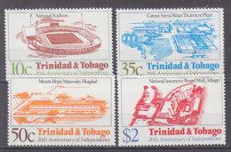 PGL AD421 - TRINIDAD Yv N°465/68 ** ARCHITECTURE - Trinité & Tobago (1962-...)