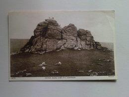 Black And White  Postcard -  Haytor Rocks,  Dartmoor - England