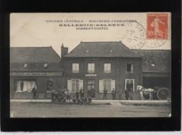 62 Norrent-fontes épicerie Centrale Boucherie Charcuterie Helleboid Delerue Pas D'éditeur Animée Tabac - Other Municipalities