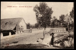 51 - ATHIS (Marne) - Avenue De La Gare - Otros Municipios