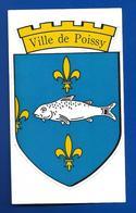 A.C.VILLE De POISSY - Autocollants