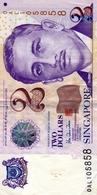 Singapour 2 Dollars 1999 XF - Singapore