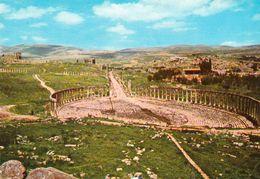 1 AK Jordanien Jordan * Blick Auf Das Forum Im Antiken Jerash (auch Gerasa) - Eine Antike Römische Stadt * - Jordanien