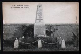 45, Huetre, Monument De 1870-1871 - Autres Communes