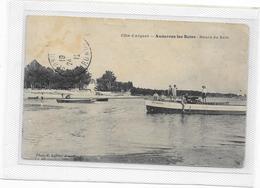 CPA ANDERNOS Rare éditeur Lafont Heure Du Bain - Andernos-les-Bains