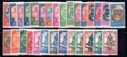 BIG/F - SUDAN SOUDAN 1931 ,  Yvert Serie N. 60/99  *  Linguellata  (2380A) - Nuovi