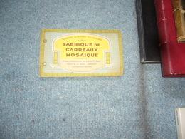 ( Carreau Carrelage Mosaique Pays Basque )  Catalogue Maison Du Barry Anglet - Books, Magazines, Comics