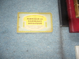 ( Carreau Carrelage Mosaique Pays Basque )  Catalogue Maison Du Barry Anglet - Libros, Revistas, Cómics
