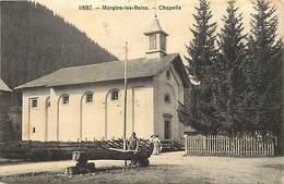 Pays Div-ref T89- Suisse - Morgins Les Bains - La Chapelle - Carte Bon Etat - - Suisse