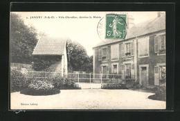 CPA Janvry, Villa Chevallier, Derriere La Mairie - Francia