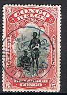 CONGO BELGE YT 62 - 1894-1923 Mols: Ungebraucht