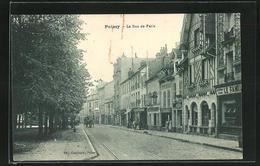 CPA Poissy, La Rue De Paris - Poissy
