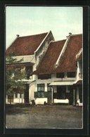 AK Batavia, Oud Hollandsche Huizen - Indonesië
