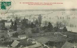Dép 44 - St Sébastien Sur Loire - Saint Sébastien Sur Loire - Les Inondations Décembre 1910 - Panorama De La Vallée - Saint-Sébastien-sur-Loire