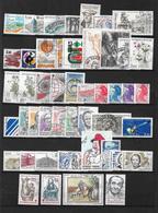 France Année  1983 Complète En Oblitéré 47 Timbres N ° 2252 A 2298 - France