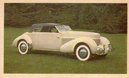 Cord Convertible Coupe Model 810  -  1936  -  CPA - Voitures De Tourisme