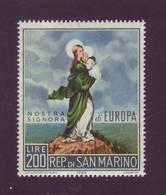 San Marino 1966 - Europa Unita, 1v MNH** - Nuovi