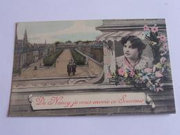 De Nancy,  Je Vous Envoie Ce Souvenir - 1907 - Nancy