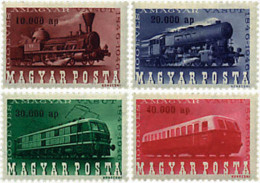 Ref. 60895 * NEW *  - HUNGARY . 1946. CENTENARY OF THE RAILWAYS. CENTENARIO DEL FERROCARRIL - Hungría