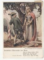 Heimkehr Oesterreichs Ins Reich Propaganda Postcard - Special Postmark Graz 1938 B190401 - Storia Postale