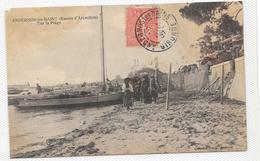 CPA ANDERNOS Rare éditeur Bazot Sur La Plage - Andernos-les-Bains
