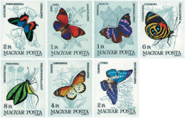 Ref. 94832 * NEW *  - HUNGARY . 1984. BUTTERFLIES. MARIPOSAS - Nuevos