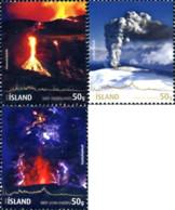 Ref. 252744 * NEW *  - ICELAND . 2010. ERUPCION DEL VOLCAN EYJAFJALLAJ�KLI - 1944-... República