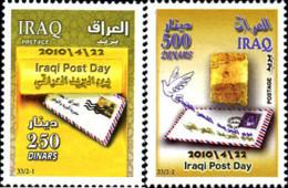 Ref. 256929 * NEW *  - IRAQ . 2010. DAY OF THE POST. DIA DEL CORREO - Irak