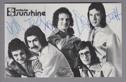 Motiv Musik Orchester Sunshine Foto Mit Original-Unterschriften - Autogramme & Autographen
