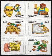Brazil MNH Set - Fairy Tales, Popular Stories & Legends