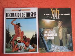 2 Bandes Dessinees   . Le Chariot De Thespis Et Le Jour Du Soleil Noir - Livres, BD, Revues