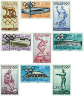 Ref. 66977 * NEW *  - ITALY . 1960. GAMES OF THE XVII OLYMPIAD. ROME 1960. 17 JUEGOS OLIMPICOS VERANO ROMA 1960 - 6. 1946-.. República