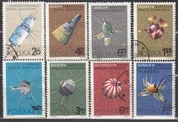 POLEN 1966 - MiNr: 1730-1737  Komplett  Used - Raumfahrt